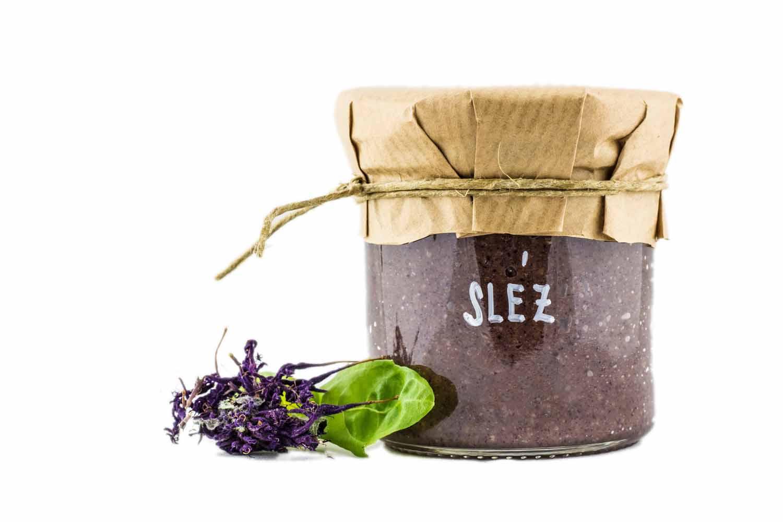 sladká bylinková nugeta sléz od herbiany zdravé mlsání lehká svačinka na pečivo do koláčů na cukroví na lžičku